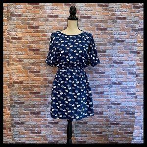 Everly Elephant Print Dress